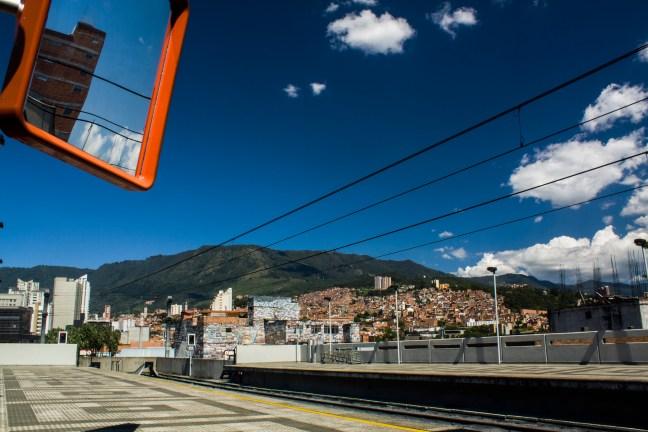 Estación San Antonio del Metro Medellin, Antioquia, Colombia