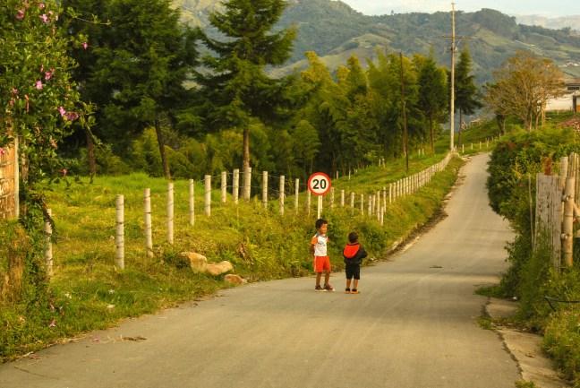 En el camino Pueblo Bonito, Caldas, Manizles