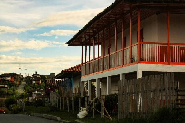 En la vereda Pueblo Bonito, Caldas, Colombia