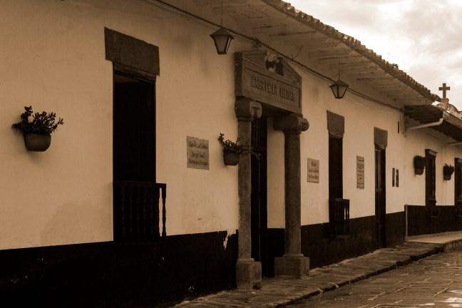 Días de lluvia Guadalupe, Santander, Colombia