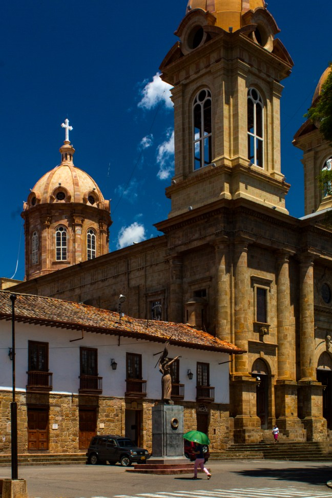 Sol de mediodía Socorro, Santander, Colombia