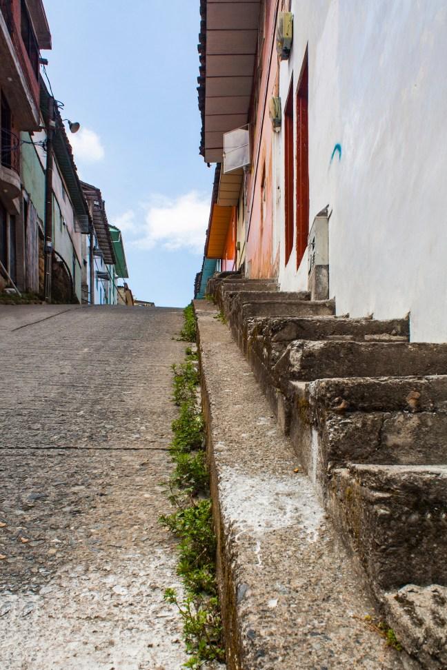 Subidas empinadas Neira, Caldas, Colombia