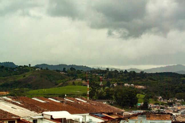Tejados Popayán, Cauca, Colombia
