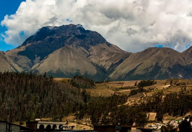Views Otavalo, Imbabura, Ecuador