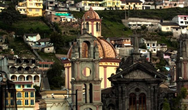 Fachadas Otavalo, Imbabura, Ecuador