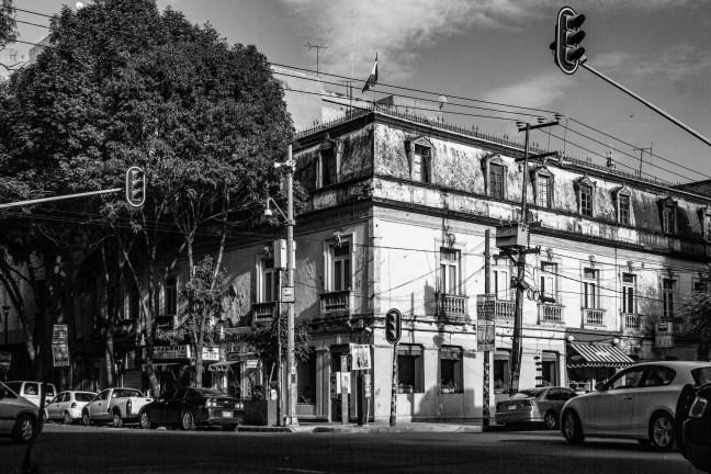 La esquina Colonia Roma, Ciudad de México, México