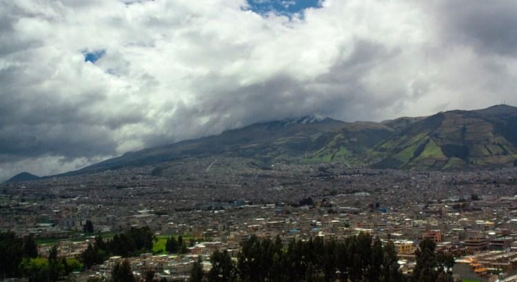 Vista de la ciudad Quito, Pichincha, Ecuador