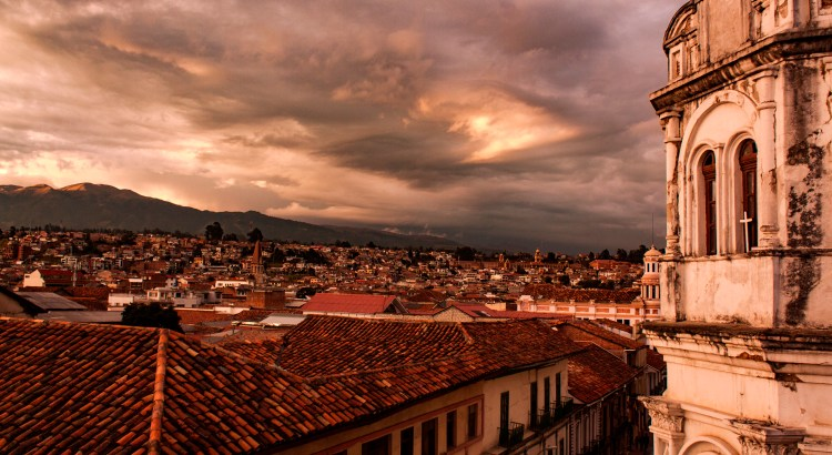Calle General Torres Cuenca, Azuay, Ecuador