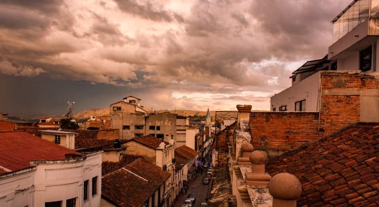 Esperando la lluvia Cuenca, Azuay, Ecuador