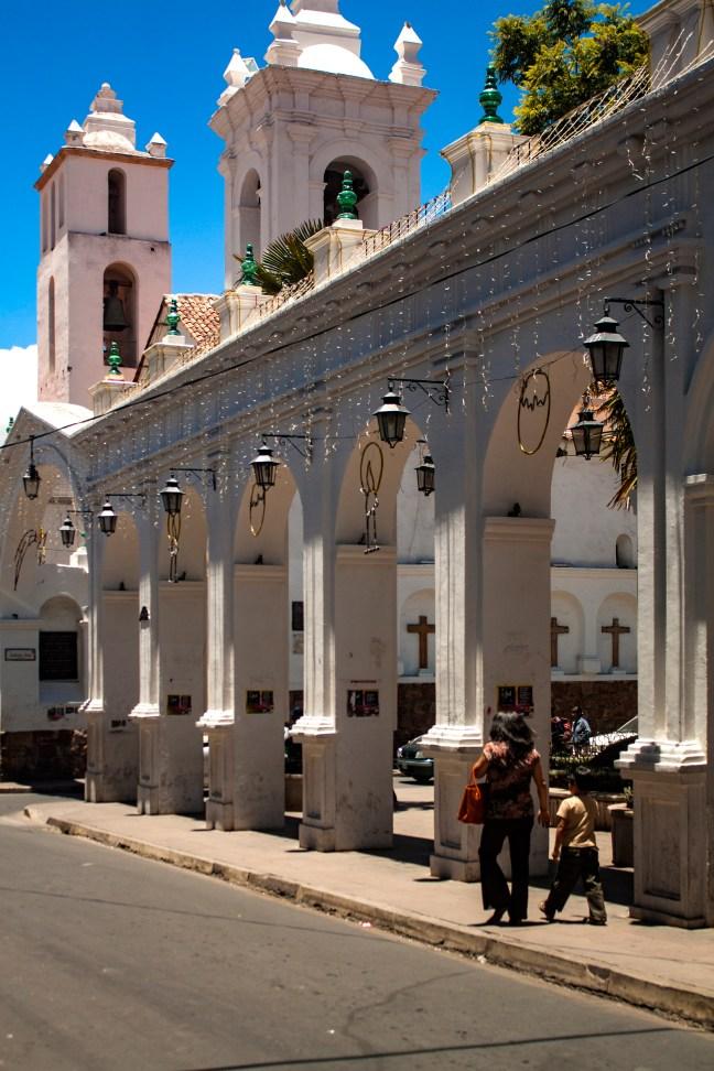 Basílica de San Francisco Sucre, Chuquisaca, Bolivia