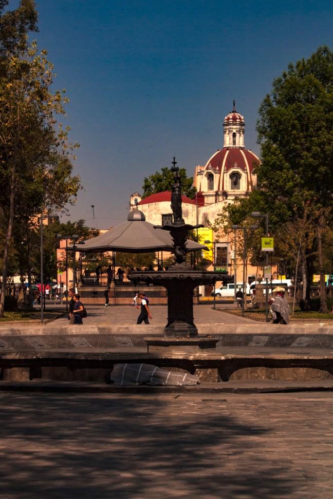 Kiosko de la Alameda Centro Histórico, CDMX, México
