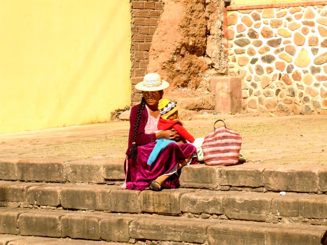 Los escalones ciudad de Potosí, Potosí, Bolivia