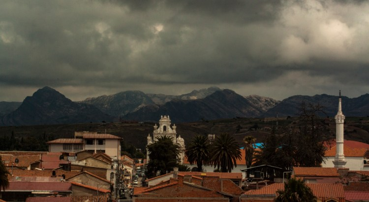 Vista de la ciudad Sucre, Chuquisaca, Bolivia