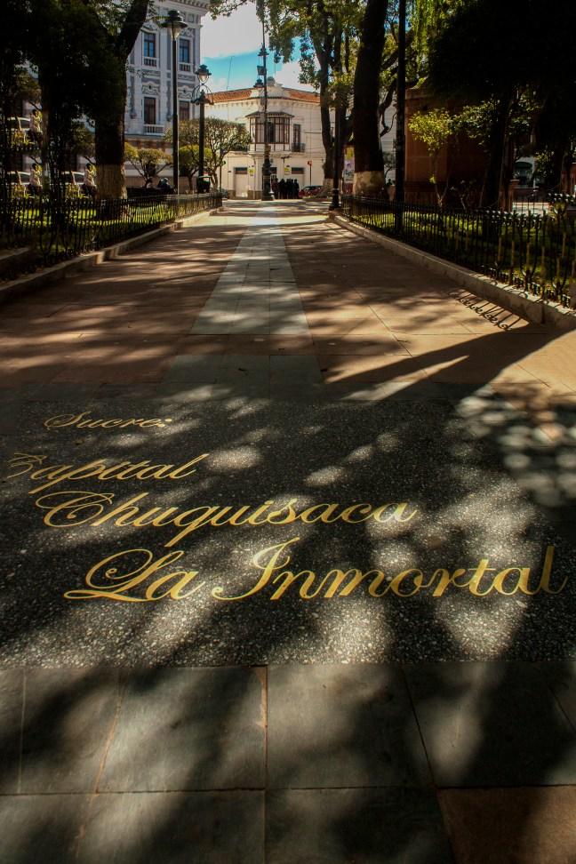 La Inmortal Plaza de Armas, Sucre, Chuquisaca, Bolivia