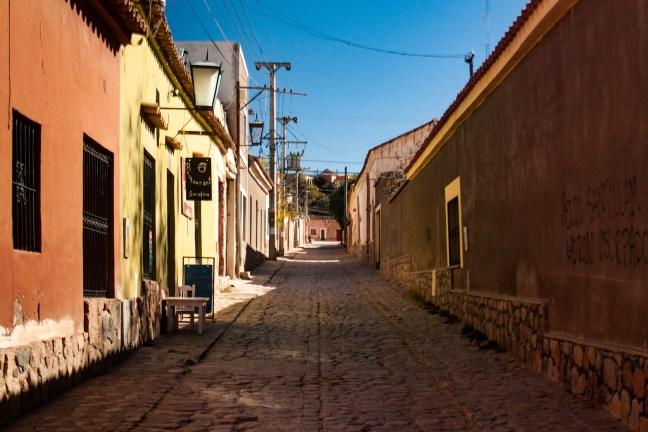 Calle de Salta Humahuaca, Jujuy, Argentina