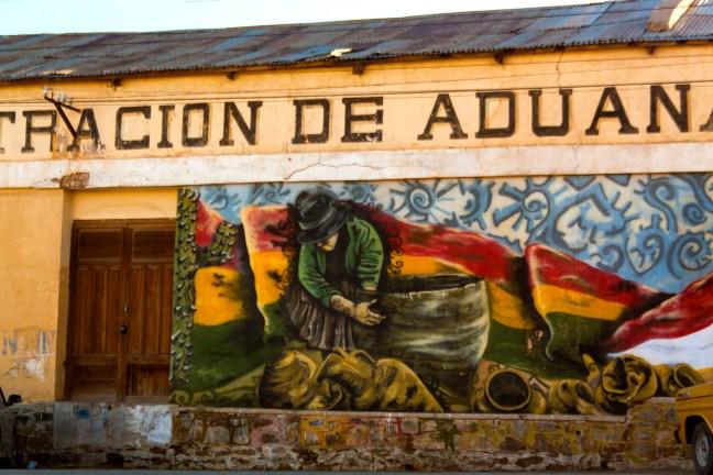 Aduana Villazón, Potosí, Bolivia