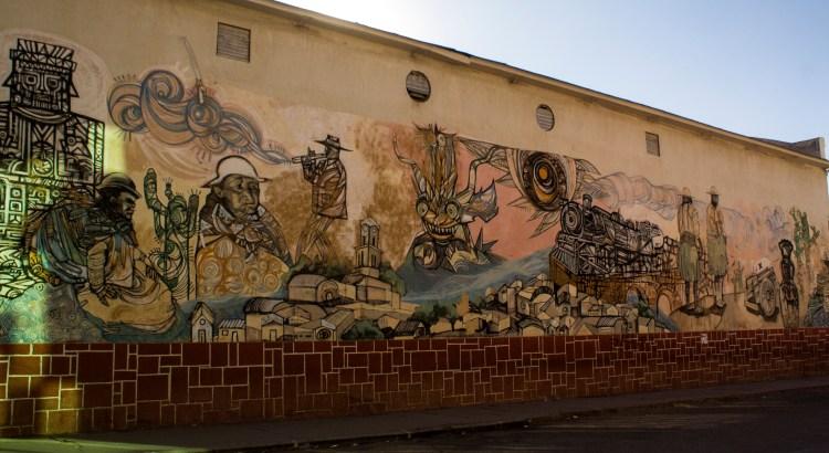 Mural Villazón, Potosí, Bolivia