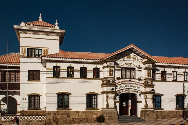 Centro histórico Villazón, Potosí, Bolivia
