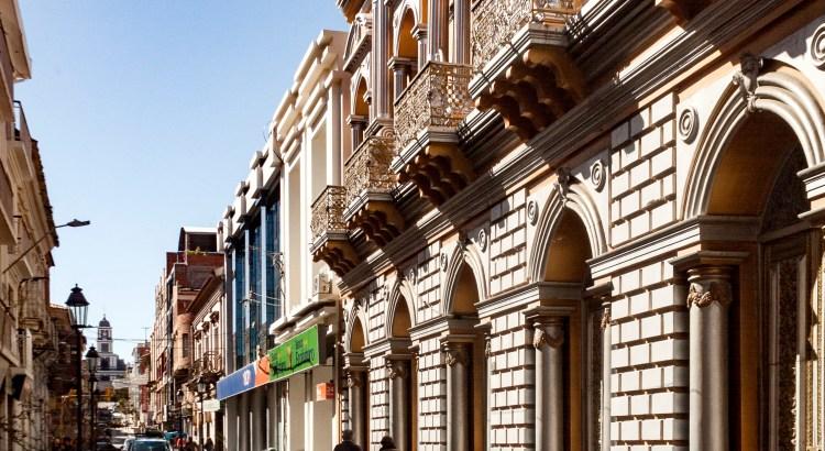 El teatro Tarija, Tarija, Bolivia