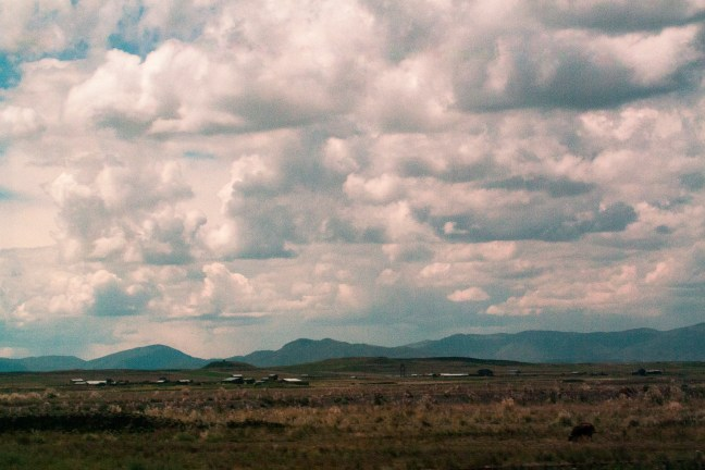 Paisajes de la Puna Carretera Arequipa a Puno, Perú