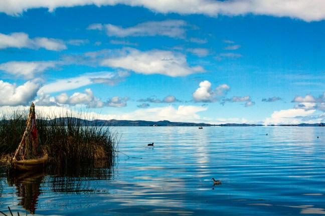 El velero Lago Titicaca, Puno, Perú