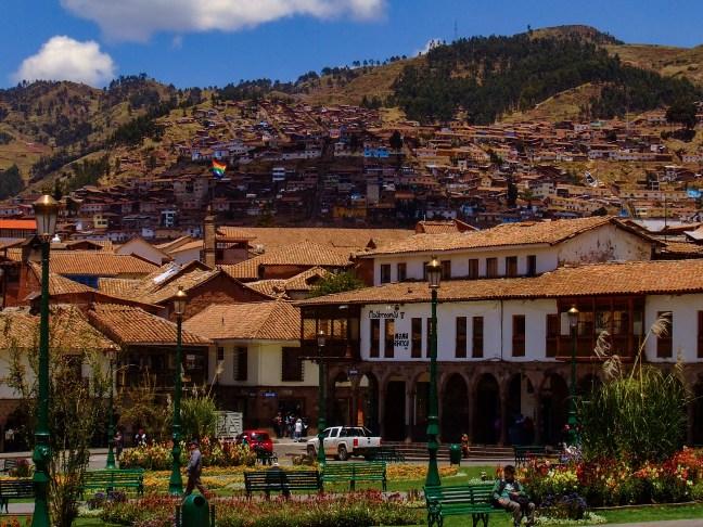 La plaza de armas ciudad de Cusco, Cusco, Perú