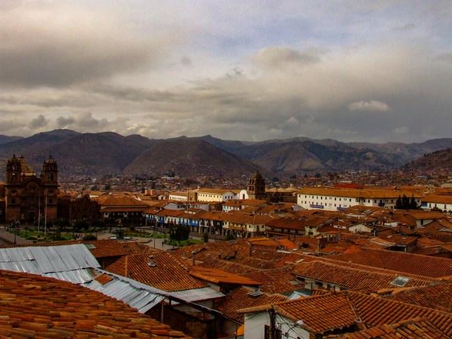 Vista dela ciudad Centro histórico de Cusco, Cusco, Perú