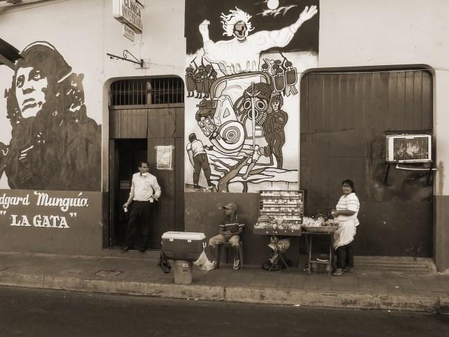 Mural conmemorativo Centro Histórico de León León, Nicaragua