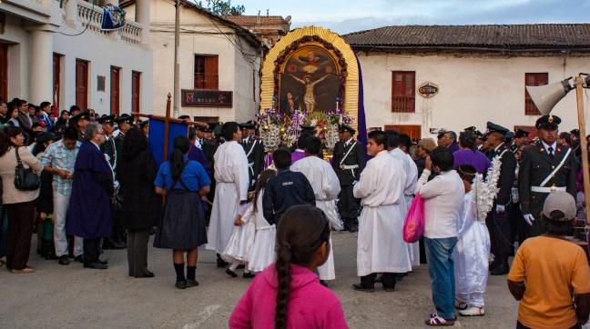 Fiestas del pueblo Andahuaylas, Region de Apurimac, Perú