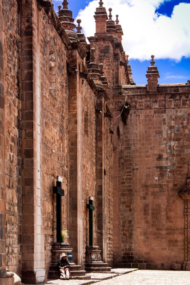 El patio Centro histórico de Cusco, Cusco, Perú