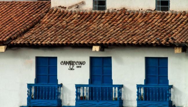 Balcones Centro histórico, Cusco, PerúBalcones Centro histórico, Cusco, Perú