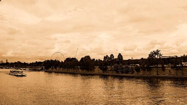Vista del Río Siena París, Francia