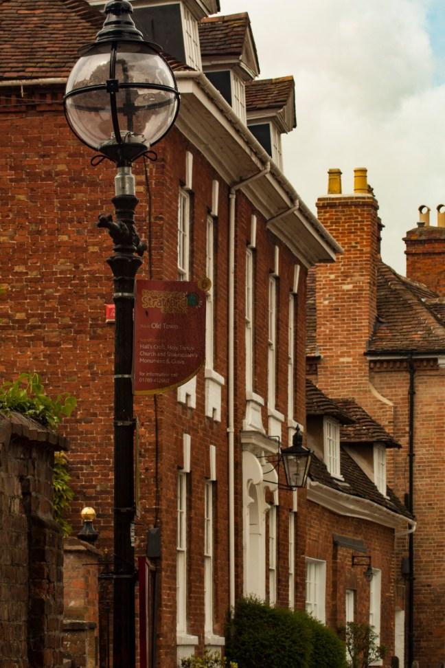 El poste Stratford-upon-Avon, UK