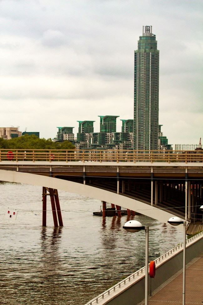 El Río Río Thames, Londres, UK