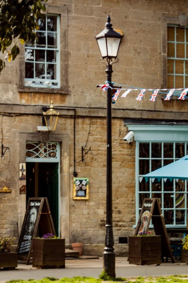 El salón de té Stratford-upon-Avon, UK