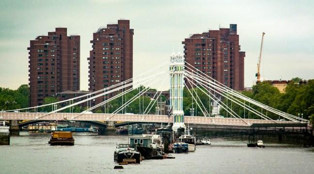 El puente ciudad de Londres, UK