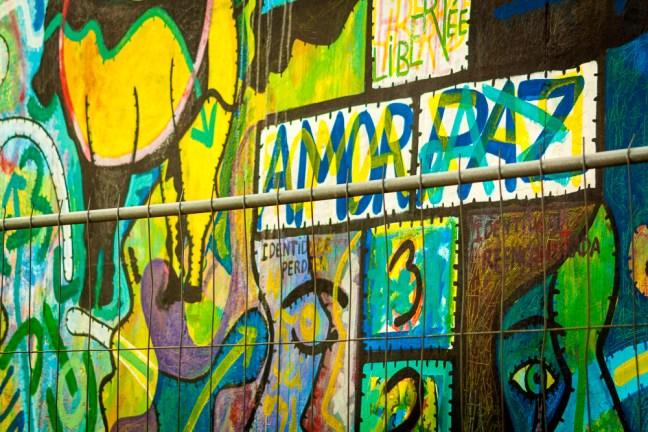 Leyendas en El Muro Berlin, Alemania