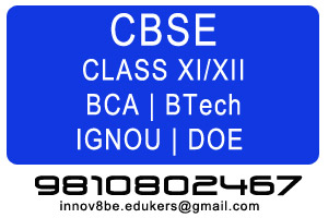 Science Projects - CBSE Class XI and XII, BCA, BTech, IGNOU, DOE etc