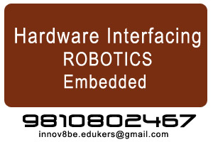 Science Projects - Hardware Interfacing, Robotics, Embedded