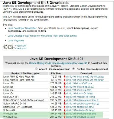 java-for-32-bit-windows