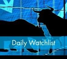 Stock Market Watchlist for 14 Feb 2020