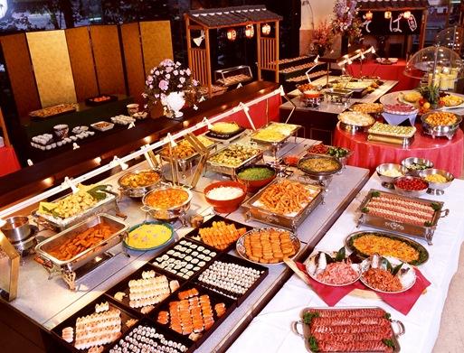 buffet spread