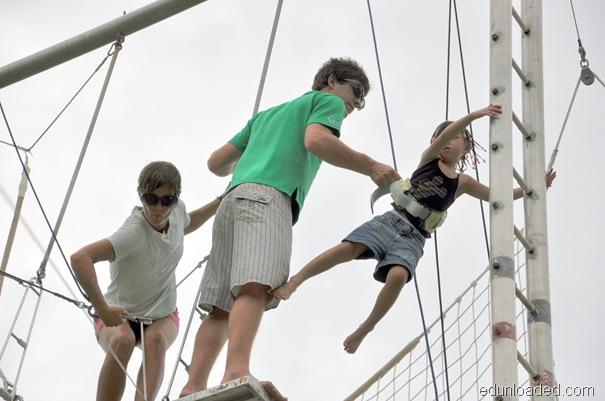 trapeze platform