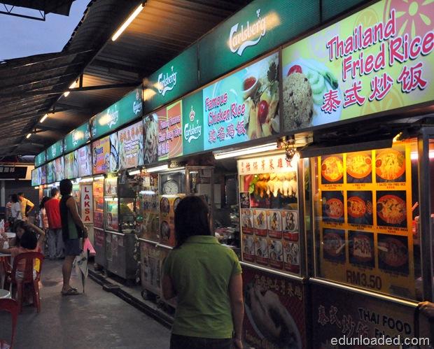 food stalls in penang