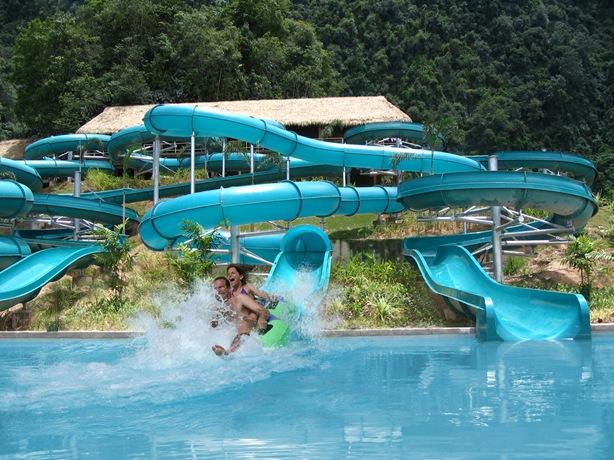 water slide tambun