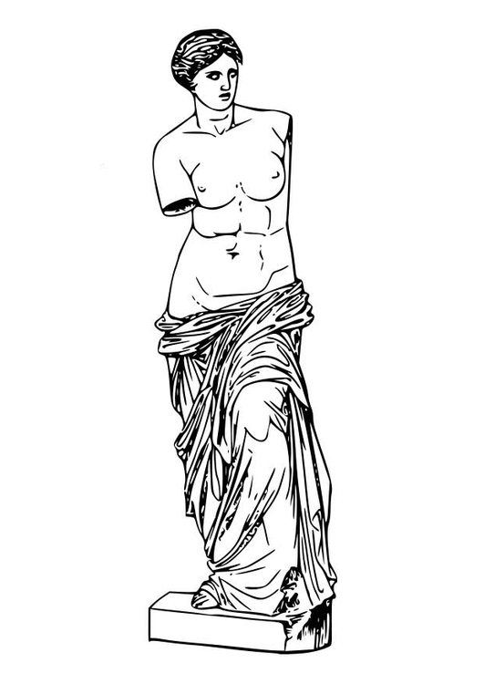 coloring page aphrodite img 18618