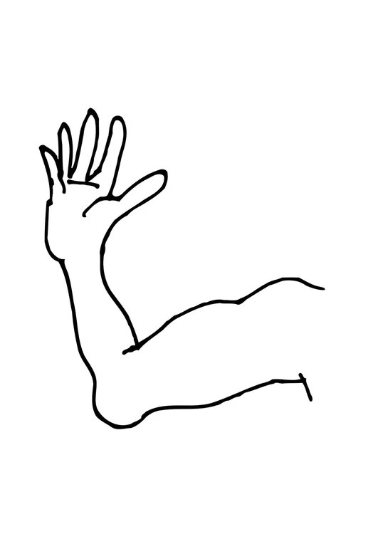 coloring page arm img 11475