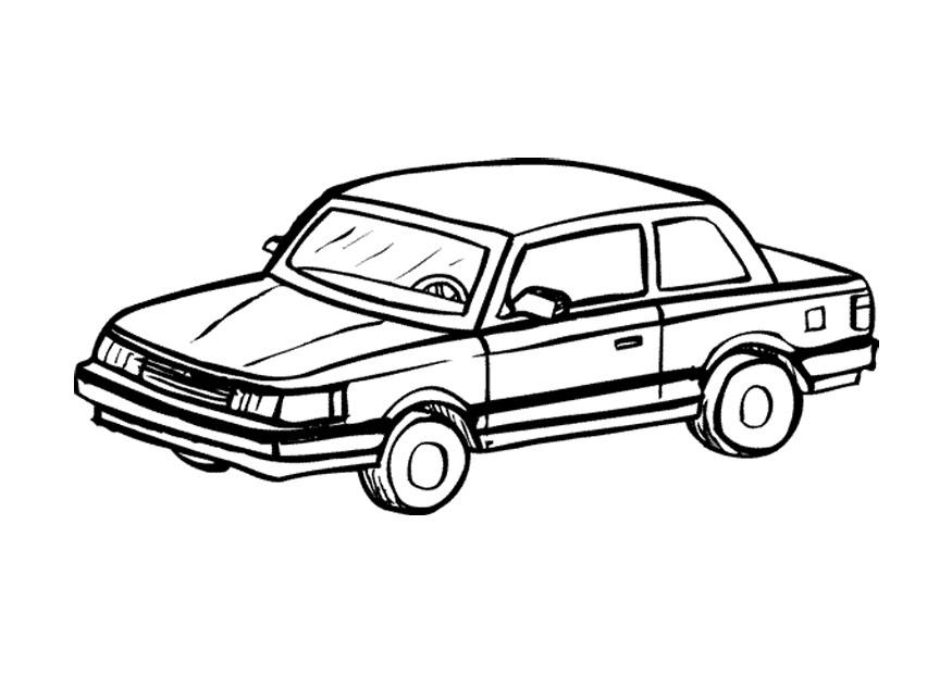 Coloring Page Automobile Img 9668
