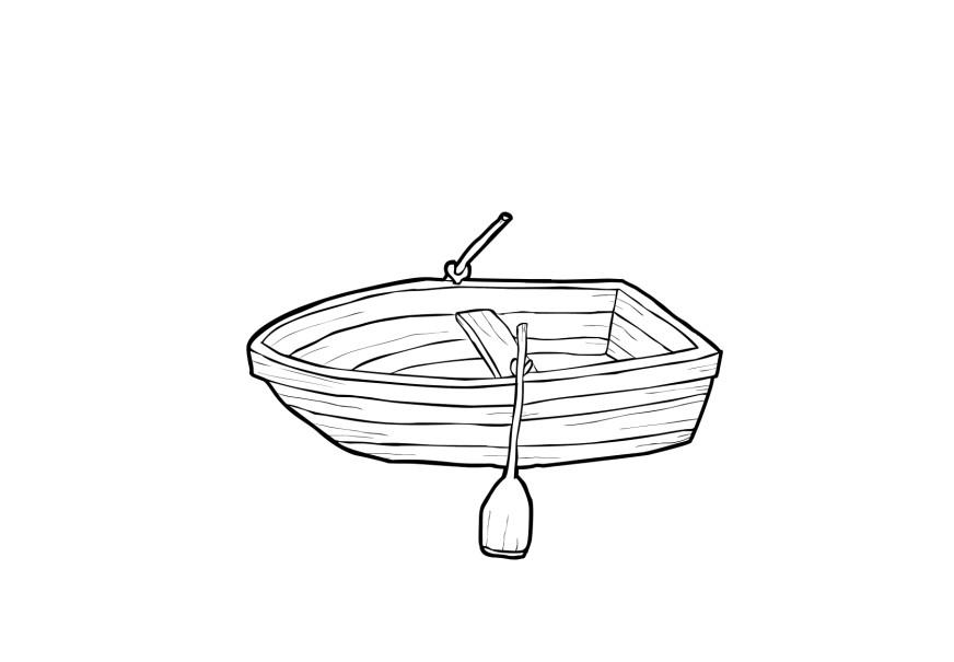 Coloring Page Boat Free Printable Coloring Pages