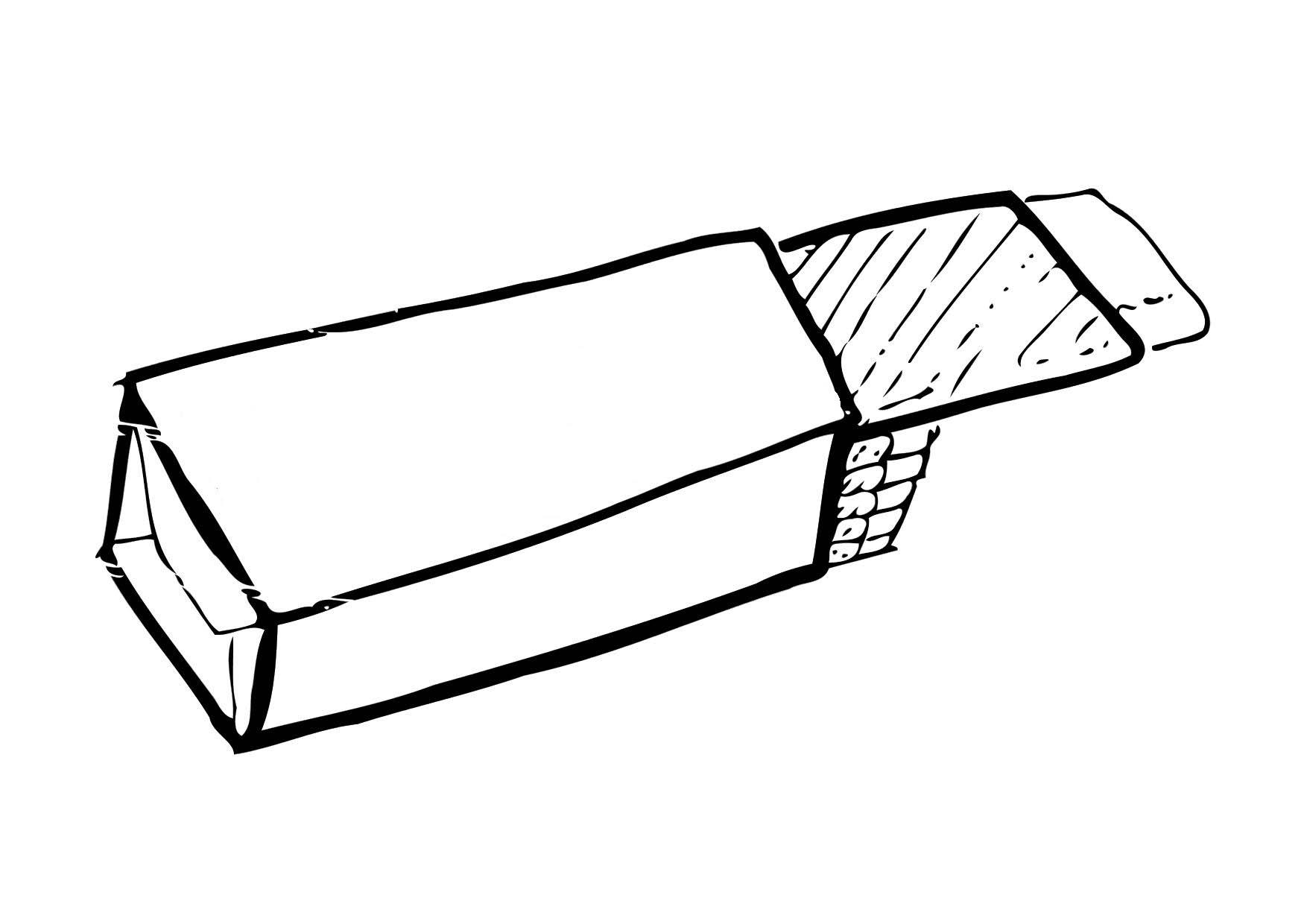 Coloring Page Chewing Gum